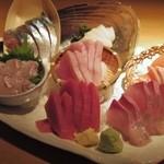 魚金 2号店 - お刺身7点盛り