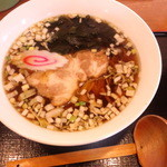 藤乃屋 - 正油ラーメン550円(2012.11月)