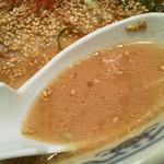 鉄平 - みそラーメンのスープ