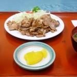食堂SS - 生姜焼き定食