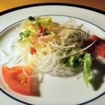 斉藤ファーム - ランチのサラダ