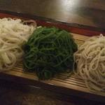 16115652 - 三色(左から芥子・抹茶・せいろ)