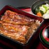 """藍の家 - 料理写真:《ブランド鰻""""坂東太郎""""》天然鰻の泥臭さやクセがなく、脂がのっているのにサラっとした口当たりと肉厚が特徴です"""