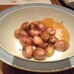 築地寿司岩 - 塩煎り銀杏