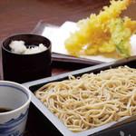 みよ田 - 料理写真:おすすめの天セイロ1,400円