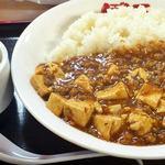 ぼん天 - 2012.11麻婆豆腐丼