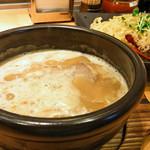 鶏と魚だしのつけめん哲 溝の口店 - 濃厚強火炊きつけめん800円