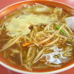 静華食堂 - 料理写真:サンマーワンタンメン740円