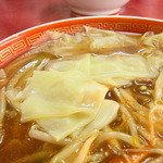 静華食堂 - サンマーワンタンメン740円