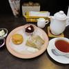 tea&sweets こく~ん - 料理写真:アフタヌーンプレートと紅茶