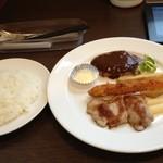 西洋食堂 - Bランチ(980円)