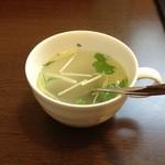 西洋食堂 - ランチセットスープ