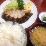 三好弥 - ポークソテー定食