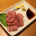やきとん 木々家 - 2012.11 タン刺(490円)