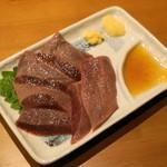 やきとん 木々家 - 2012.11 レバ刺(490円)