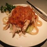 菜嘉 - 前菜の棒々鶏