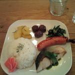 トモチェカフェ - 特製本日のプレートランチ850円