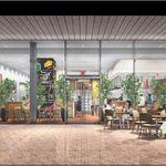 ピッツェリア&バー マーノエマーノ - ガラス張りの空間は開放的。オルトラ(農園)のコンセプトのもと、リゾートガーデンをお楽しみいただけます。