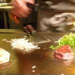 鉄板焼 一如 - 和牛フィレ肉のステーキ
