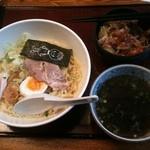16128458 - 醤油五右衛門つけ麺(850円)