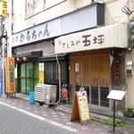さしみや五坪 - JR蒲田東口の立ち飲み「さしみや五坪」、食べログではむしろランチで有名
