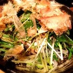 嘉門 - 水菜と豆腐サラダ
