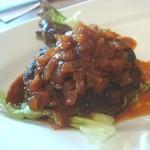 ふじバル - 黒毛和牛と霧島黒豚の合びきハンバーグ