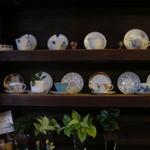 Kohiyafukino - カップが飾られています