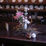 Kohiyafukino - 奥のテーブル席