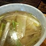 美里 - 鴨汁のアップ