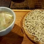 美里 - 鴨汁そば(1,250円)