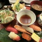 16133549 - 2012.12 鮨勘セット(1000円)
