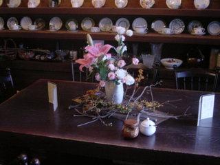 珈琲屋 吹野 - 奥のテーブル席