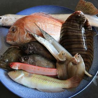 瀬戸内の天然鮮魚にこだわり。