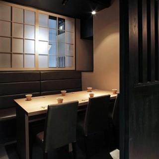 【完全個室】2~16名様迄ご利用可能な椅子テーブル席