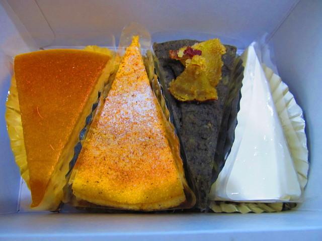 ダンテ 本店 - いろいろなチーズケーキ
