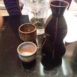 加賀屋 - 酒、日本酒熱冠2合。
