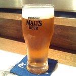 海鮮亭 ととや - ととや 「ビール」