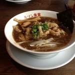 キリン食堂 - 中華そば650円(2012/11)