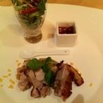 中国料理 翆陽 - 鶏もも肉のロースト