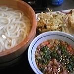 丸亀製麺 - かす天釜揚げ