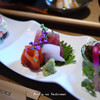 Suzu - 料理写真:地元産の惣菜三種