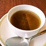 ロイヤルホスト - スープ(たまねぎ)