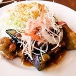 ロイヤルホスト - チキンのフリット香味野菜和風ソース