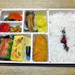 駅弁屋 - 鮭の焼漬弁当 さけのやきつけ(2012年11月)