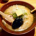 ラーメン むてっぽう - 味噌らーめん ¥700 2012.11.28