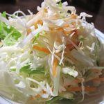 台湾料理 百楽門 - キャベツの洋風サラダ