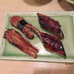 富梅 - 2012.12.01 鰻・穴子 にぎり