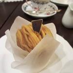 銀座みゆき館 - 和栗のモンブラン