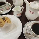銀座みゆき館 - 和栗のモンブラン、コーヒー